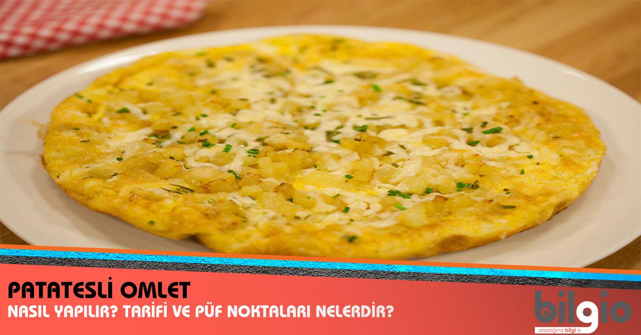 Patatesli Omlet Nasıl Yapılır? Tarifi, Malzemeleri ve Püf ...
