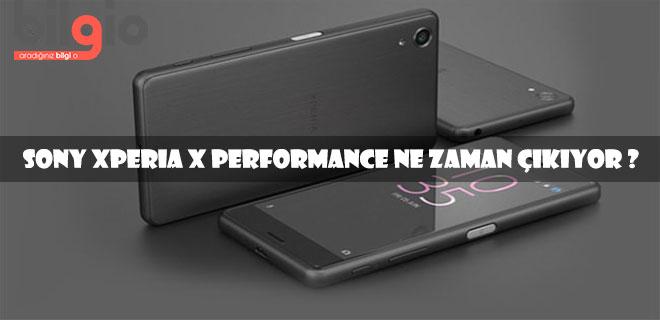 sony-xperia-x-performance-ne-zaman-çıkıyor