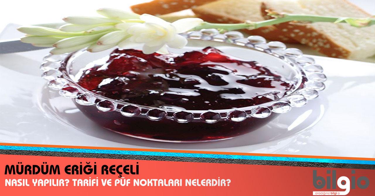 Mürdüm Eriği Reçeli Tarifi