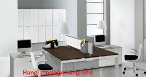 Hangi mesleğe hangi ofis mobilyası gider
