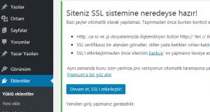SSL nasıl kurulur