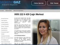 başkent doğalgaz şikayet telefon numaraları