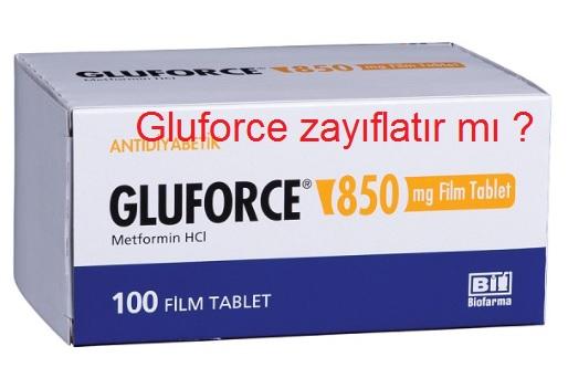 Gluforce zayıflatırmı