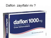 Daflon zayıflatır mı ?