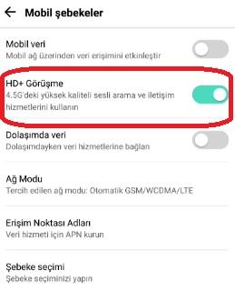 Vo LTE