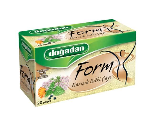 Doğadan form karışık bitki çayı