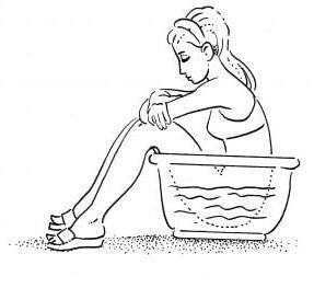 oturma banyosu
