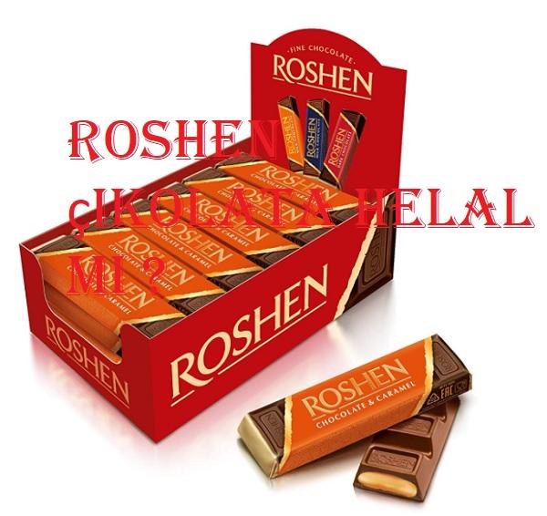 Roshen çikolata helal mi
